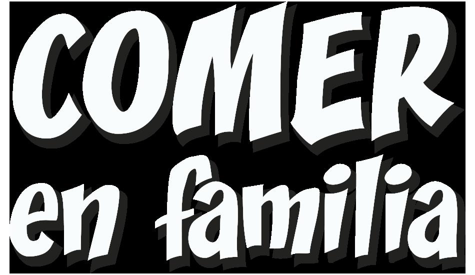 Comer en familia Logo
