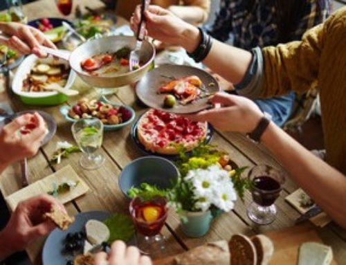 Los beneficios de comer juntos